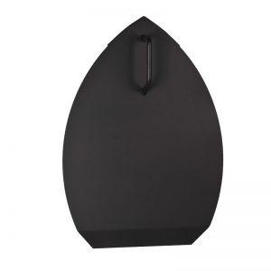 voorzetkap/doofkap zwart gecoat