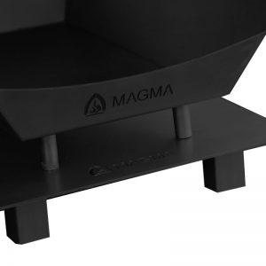 RVS onderplaat Magma