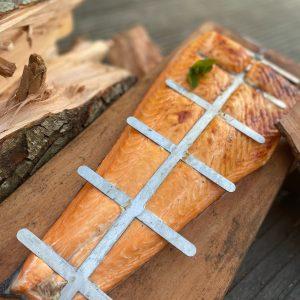 Zalm plank