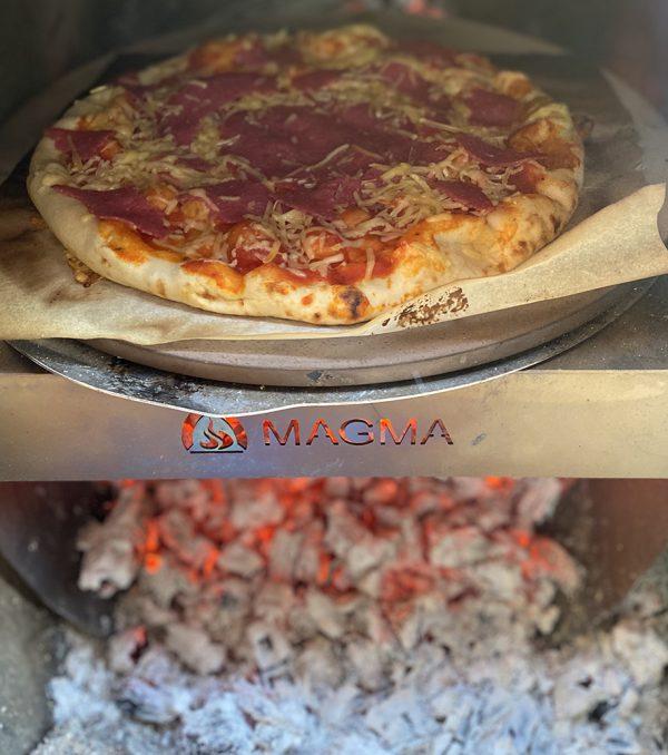 Tover je tuinhaard om in een pizzaoven
